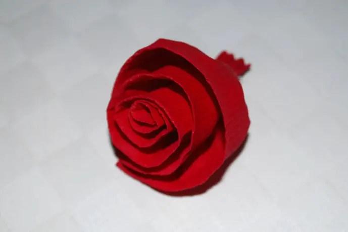 Rosen basteln  KinderspieleWeltde