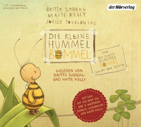 Die kleine Hummel Bommel von Maite Kelly (Bild der Hörverlag)