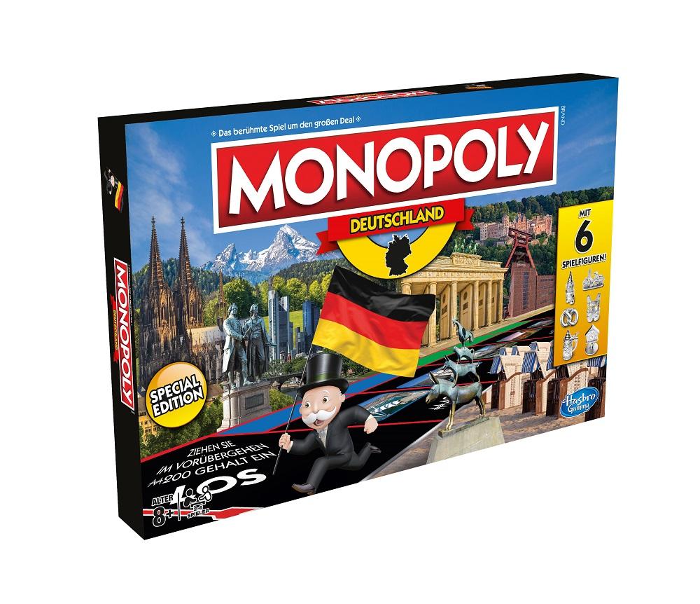 MONOPOLY Deutschland 2018 Edition