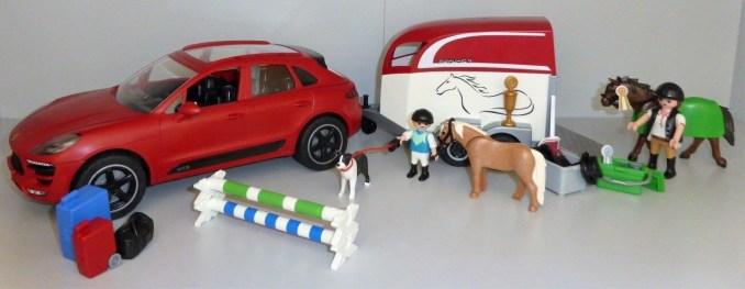 playmobil porsche macan gts mit pferdeanh nger. Black Bedroom Furniture Sets. Home Design Ideas