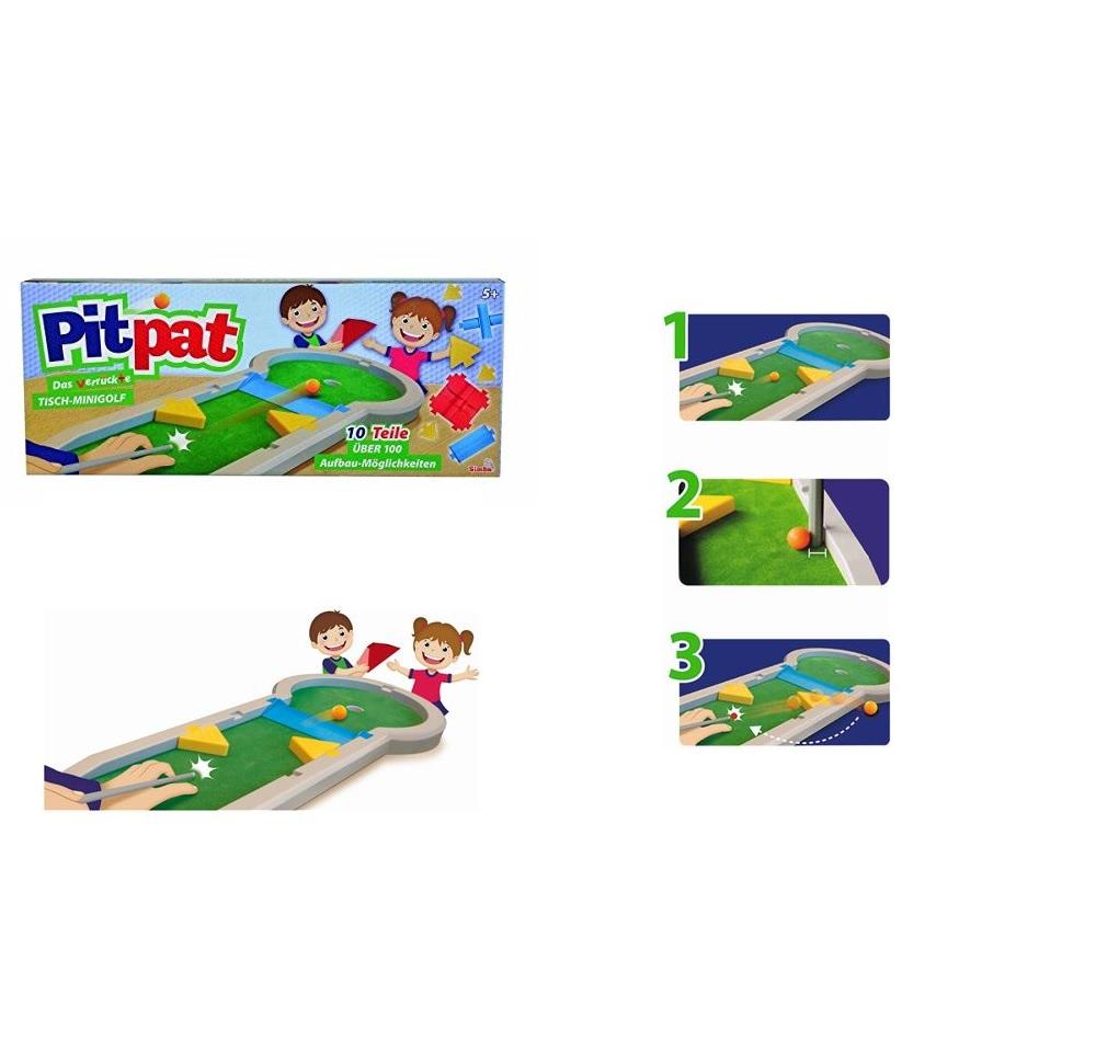 Pitpat - Das verrückte Tisch-Minigolf