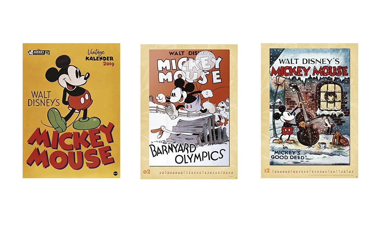 Mickey Mouse Edition - Kalender 2019 - Kinderspielmagazin - das ...
