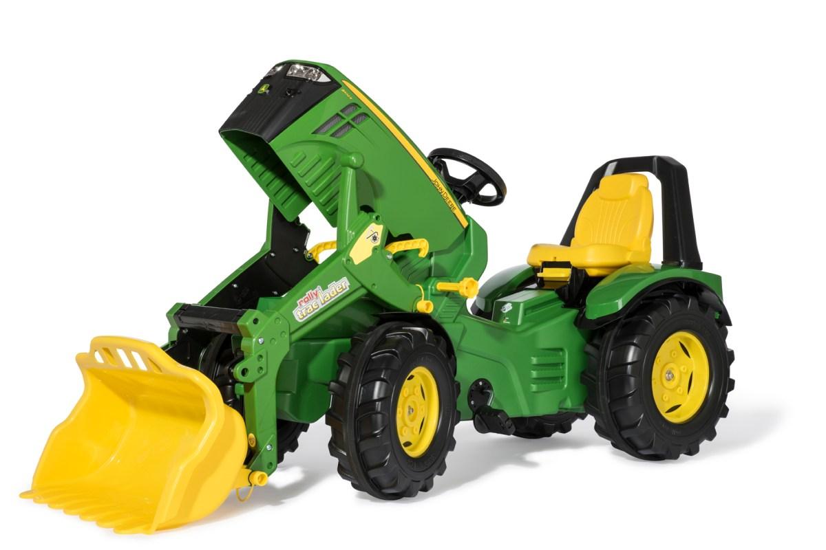 rolly toys: neuer John Deere Trettraktor, der mitwächst