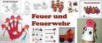 Projekt Feuer und Feuerwehr Kindergarten und Kita-Ideen