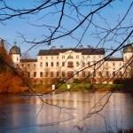 Blick über den Teich - Schloss Salzau