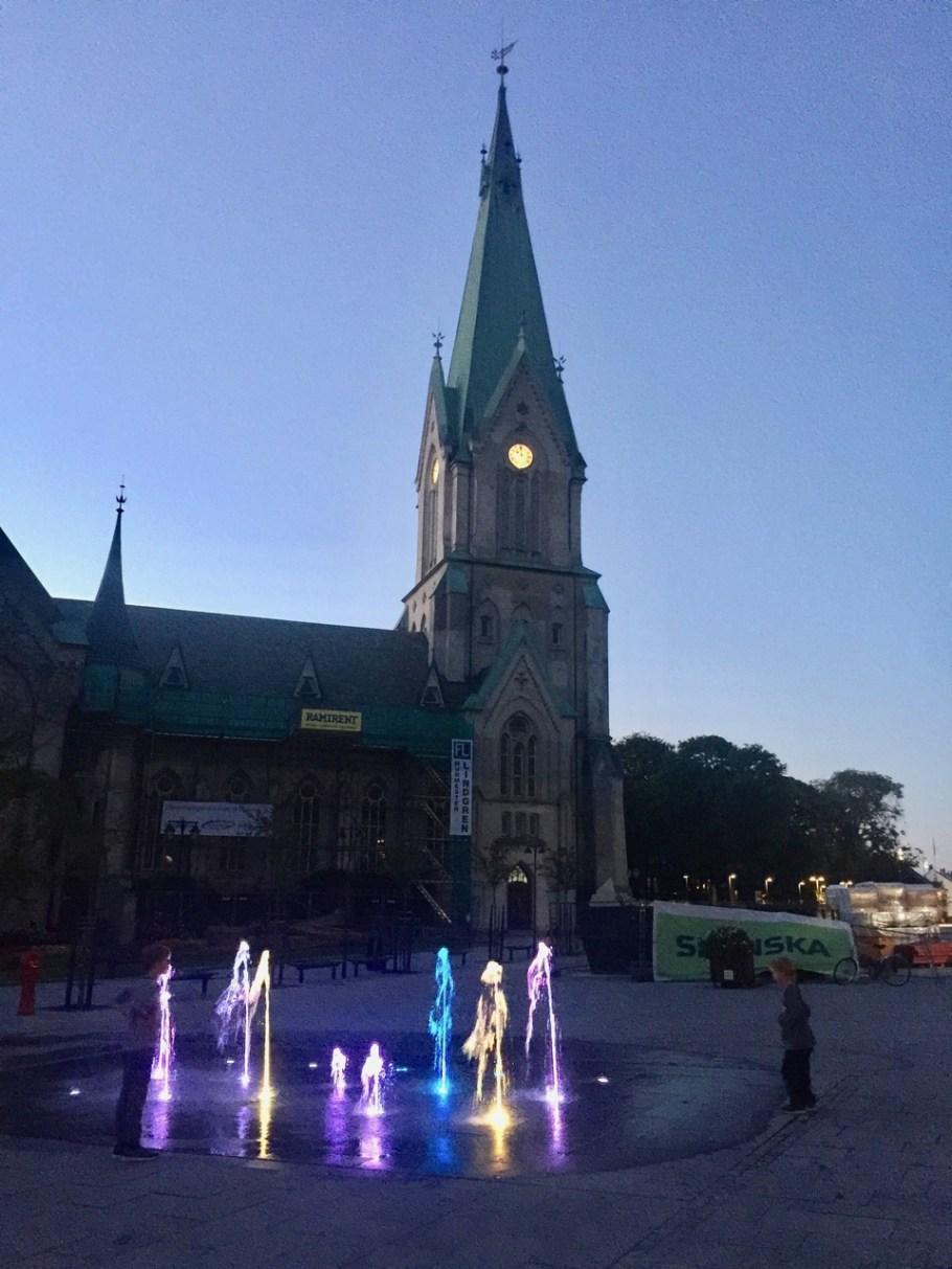 Kristiansand am Abend