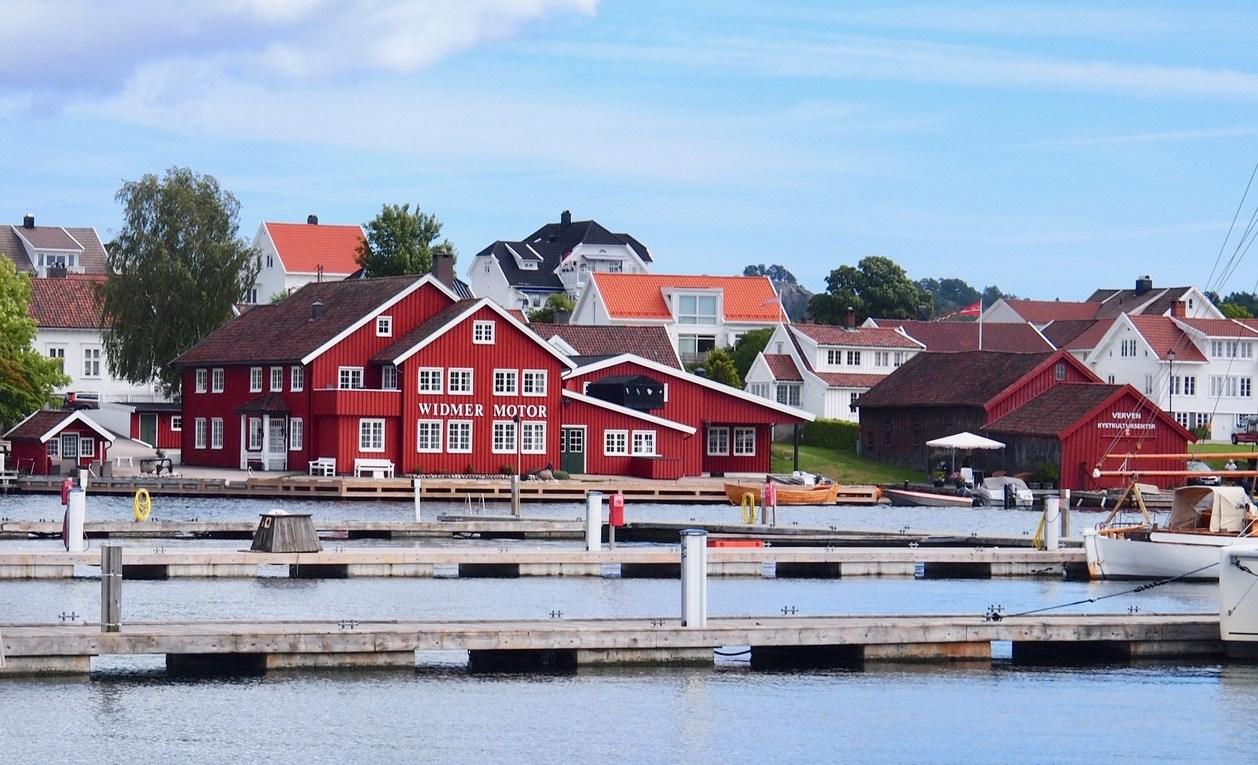 so stellt man sich Norwegen vor