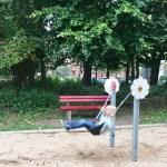 Kleinkindschaukel - Spielplatz Schützenplatz in Kiel