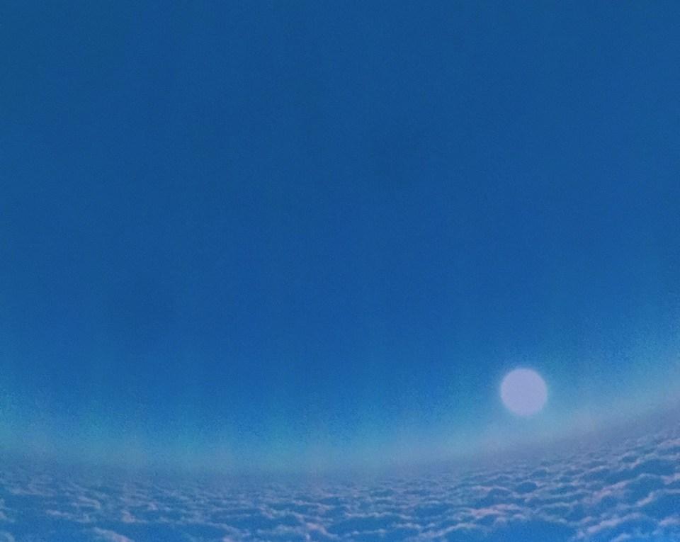 ab an den Himmel