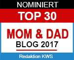 Nominiert für Top 30 Mom & Dad Blogs 2017