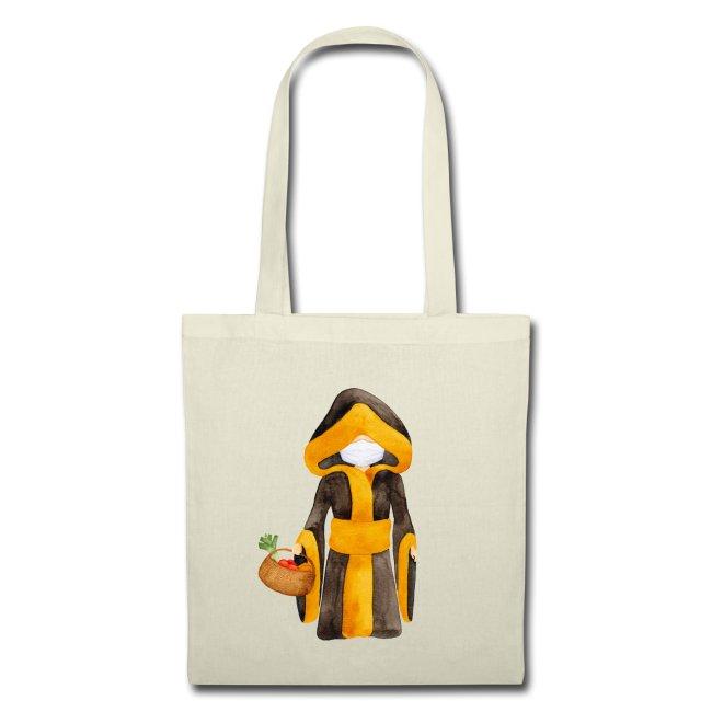 Münchner Kindl Stofftasche - Corona Edition mit Maske