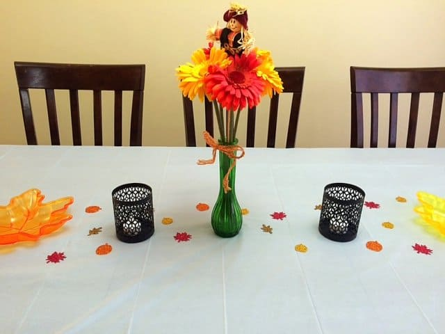 Table Decorations for Thanksgiving
