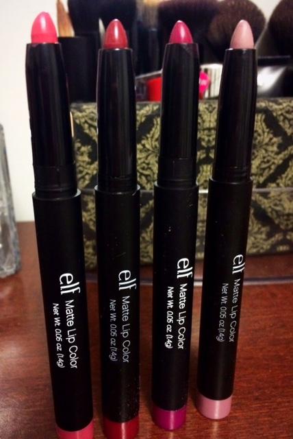 elf matte lip pencil reviews