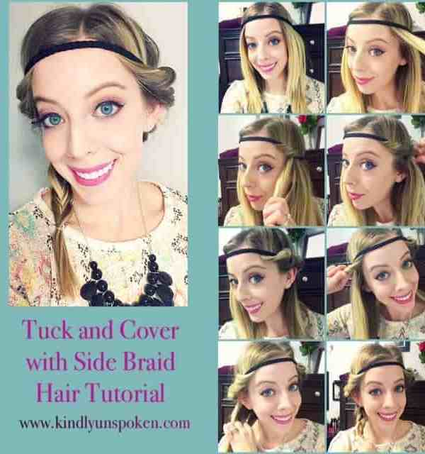 Tuck and Cover Side Braid