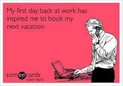 Booking my Vacation Funny