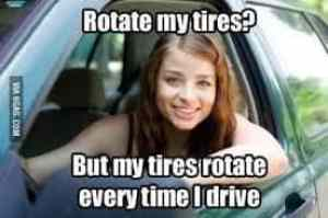 rotate tires humor