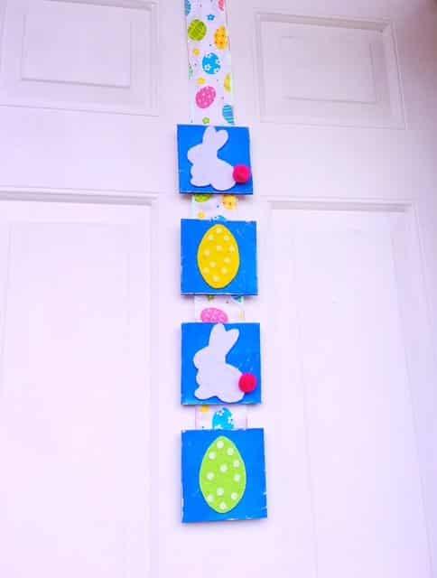 Easter Tile Door Hanger DIY (1)