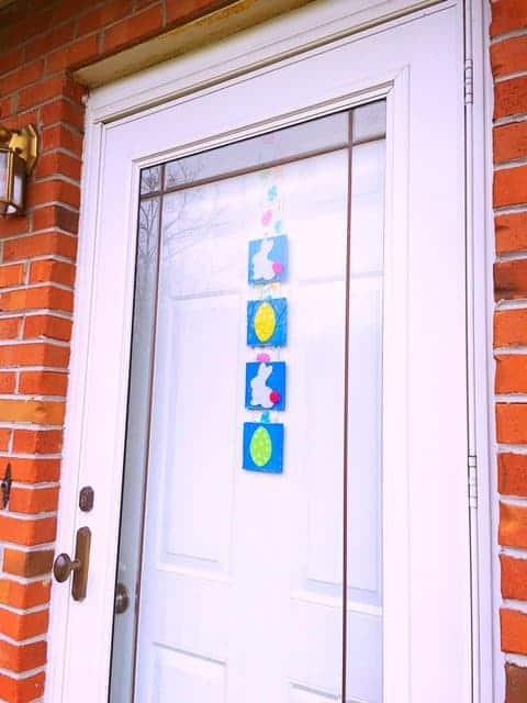 Easter Tile Door Hanger DIY (3)