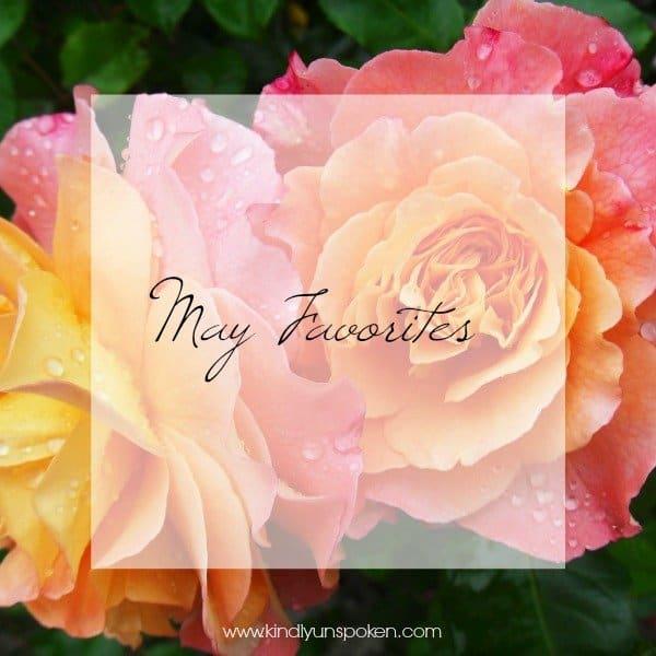 May Favorites Kindly Unspoken