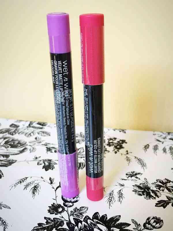 Wet n Wild Velvet Matte Lip Colors