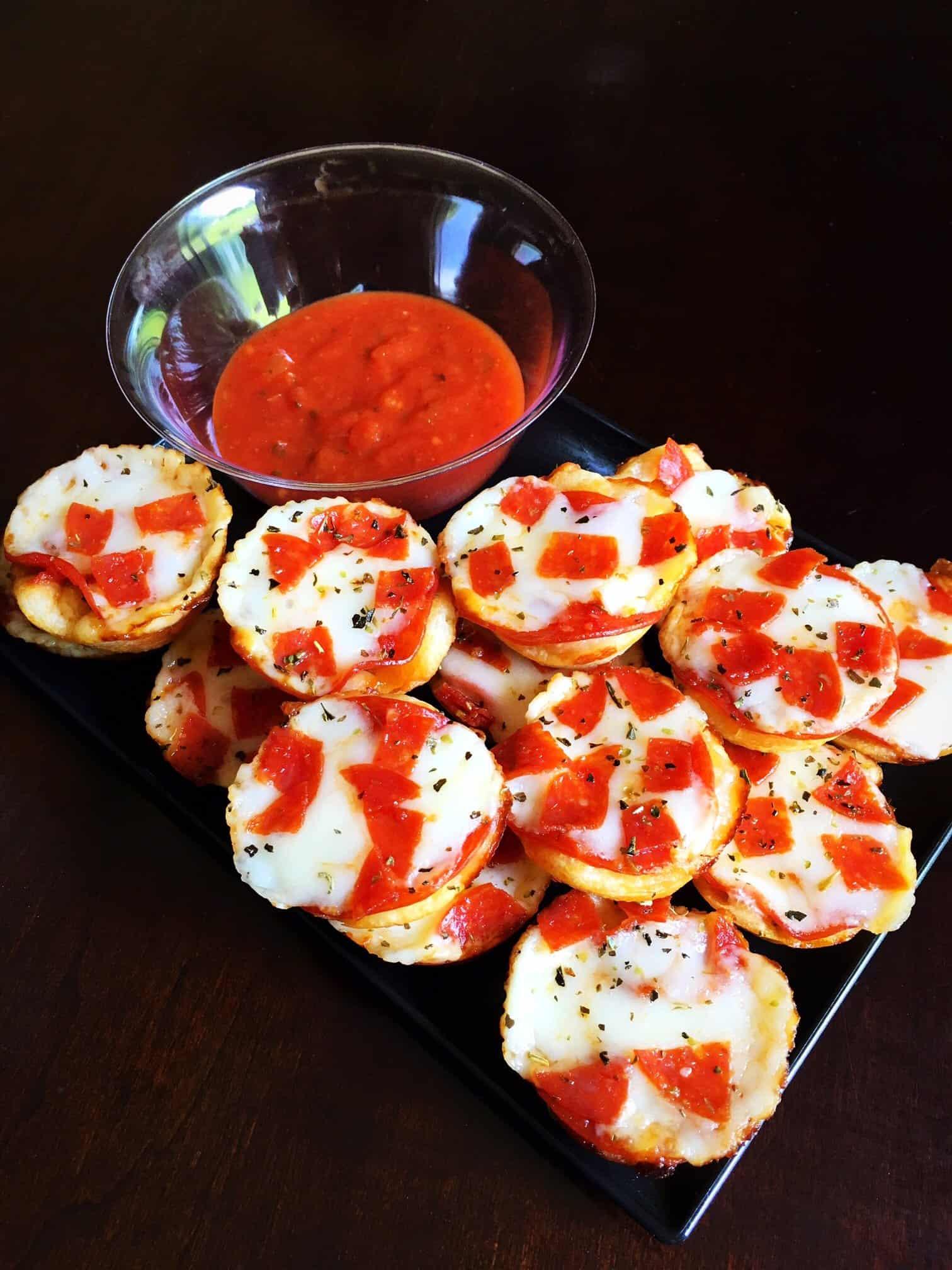 Easy Mini Pepperoni Pizza Cups (5)