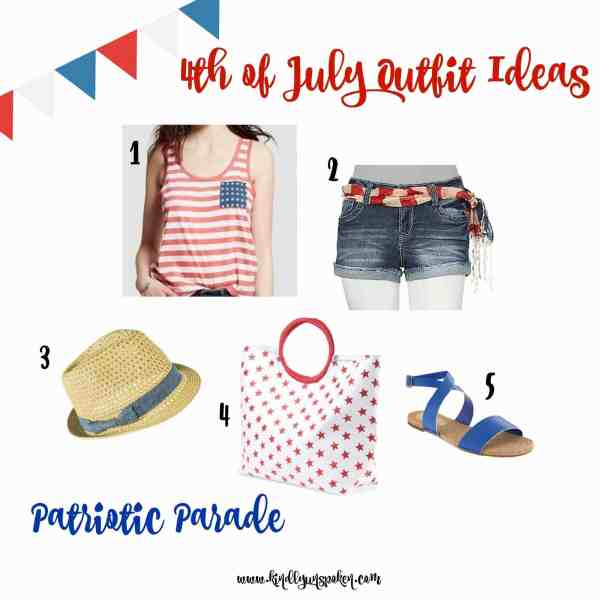 Patriotic Parade 4th of July Outfit Idea