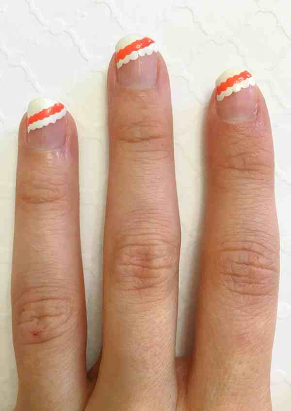 Scalloped Nail Tutorial (7)