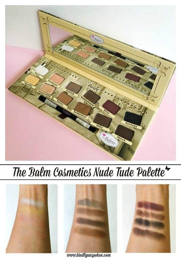 The Balm Cosmetics Nude Tude Palette