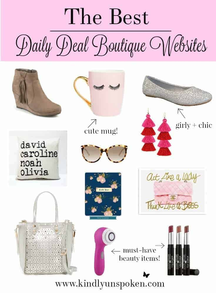 The Best Daily Deal Boutique Websites