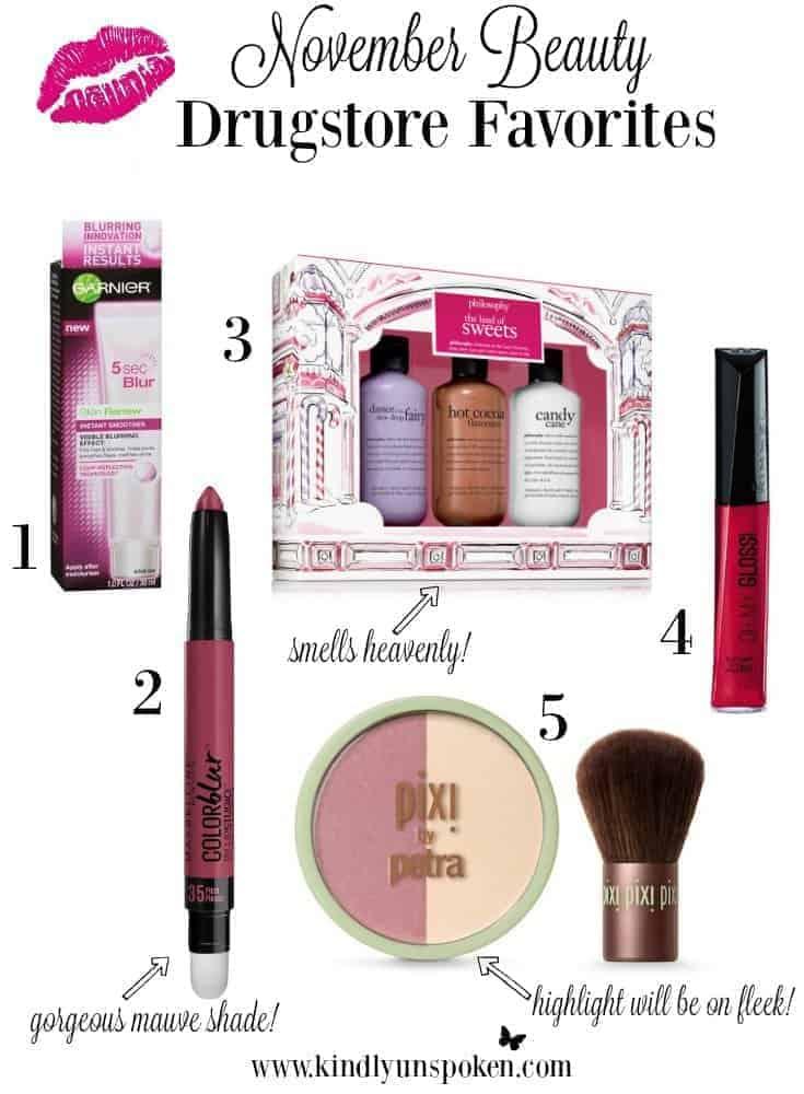 november-beauty-drugstore-favorites