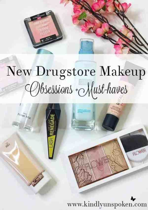 New 2017 Drugstore Makeup Obsessions