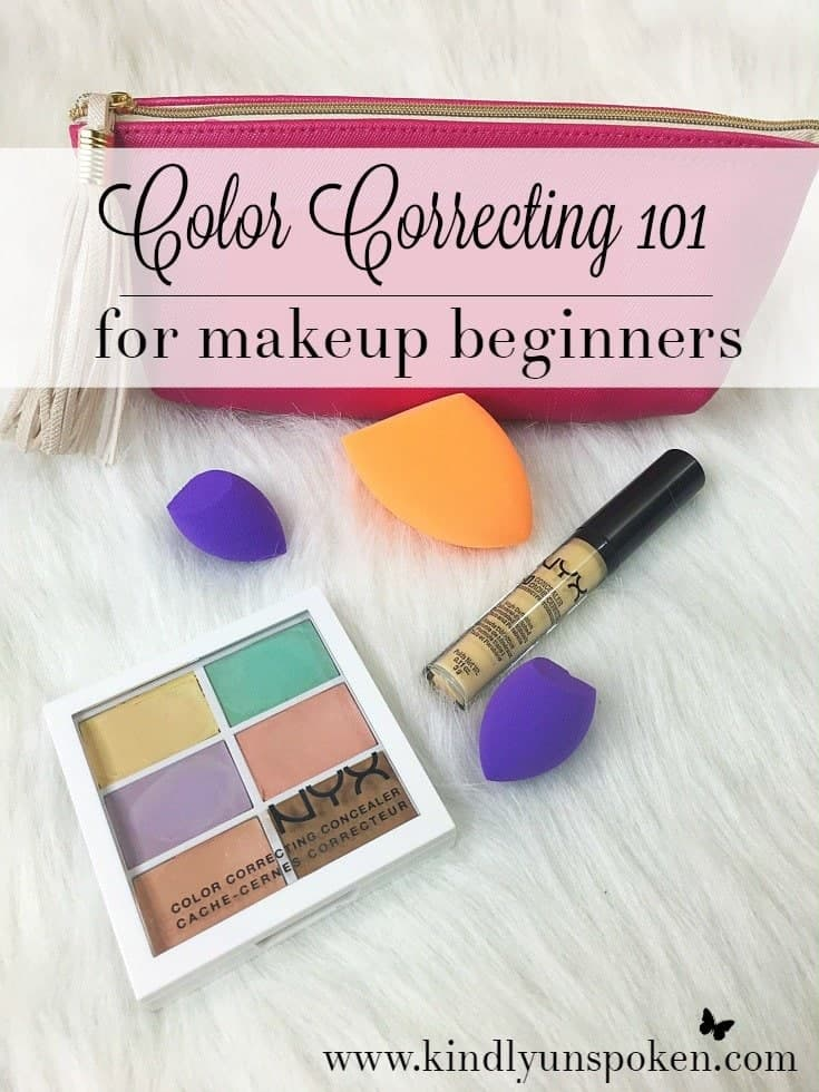 Color Correcting 101 for makeup beginners