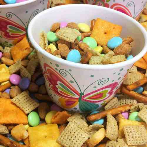 Sweet & Salty Spring Chex Mix
