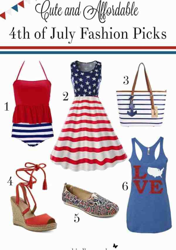 Cute and Affordable 4th of July Fashion- Under $25