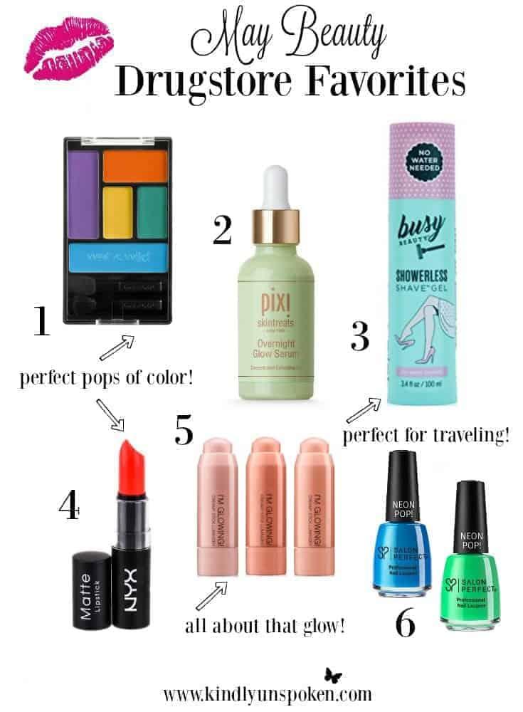 May Beauty Drugstore Favorites