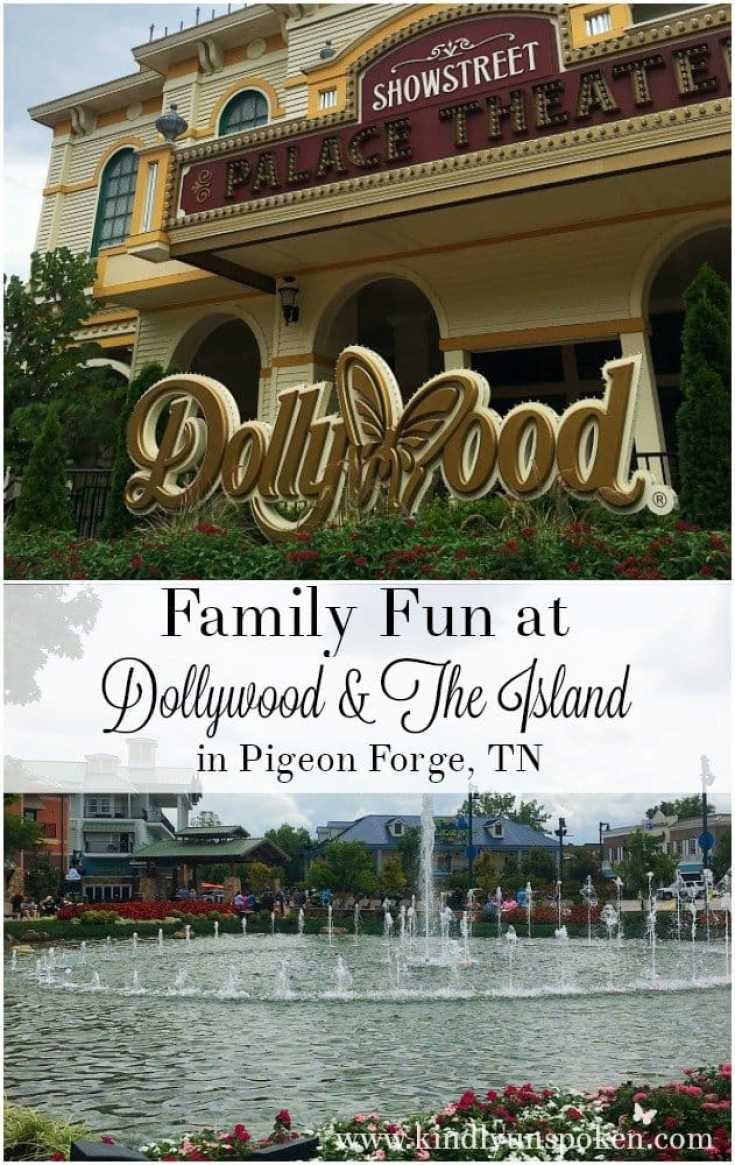 Family Fun at Dollywood and the Island in Pigeon Forge TN