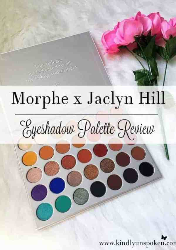 Morphe x Jaclyn Hill Eyeshadow Palette- Review