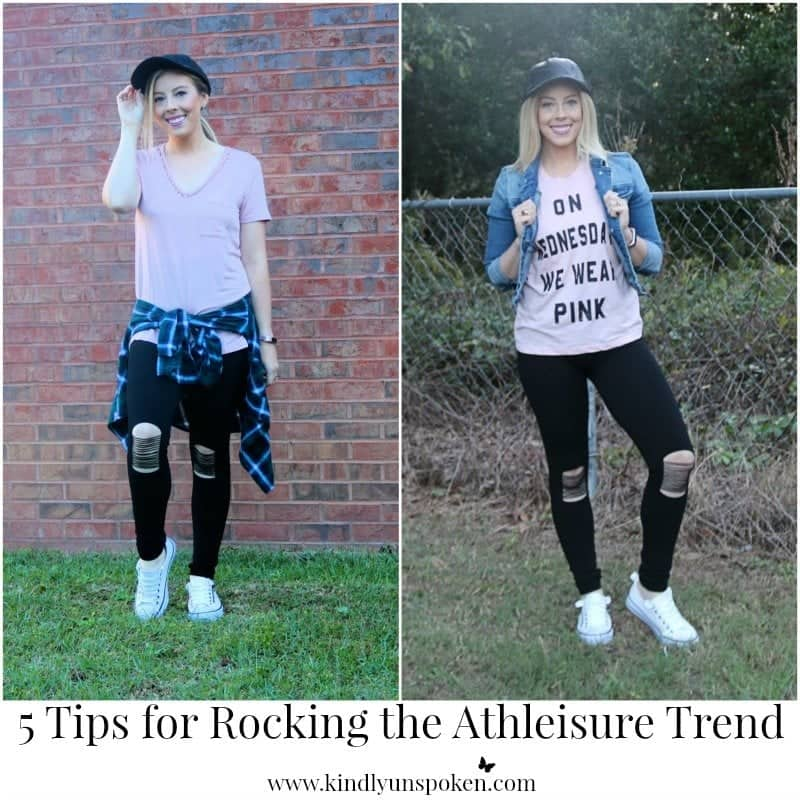 5 Tips for Rocking the Athleisure Trend