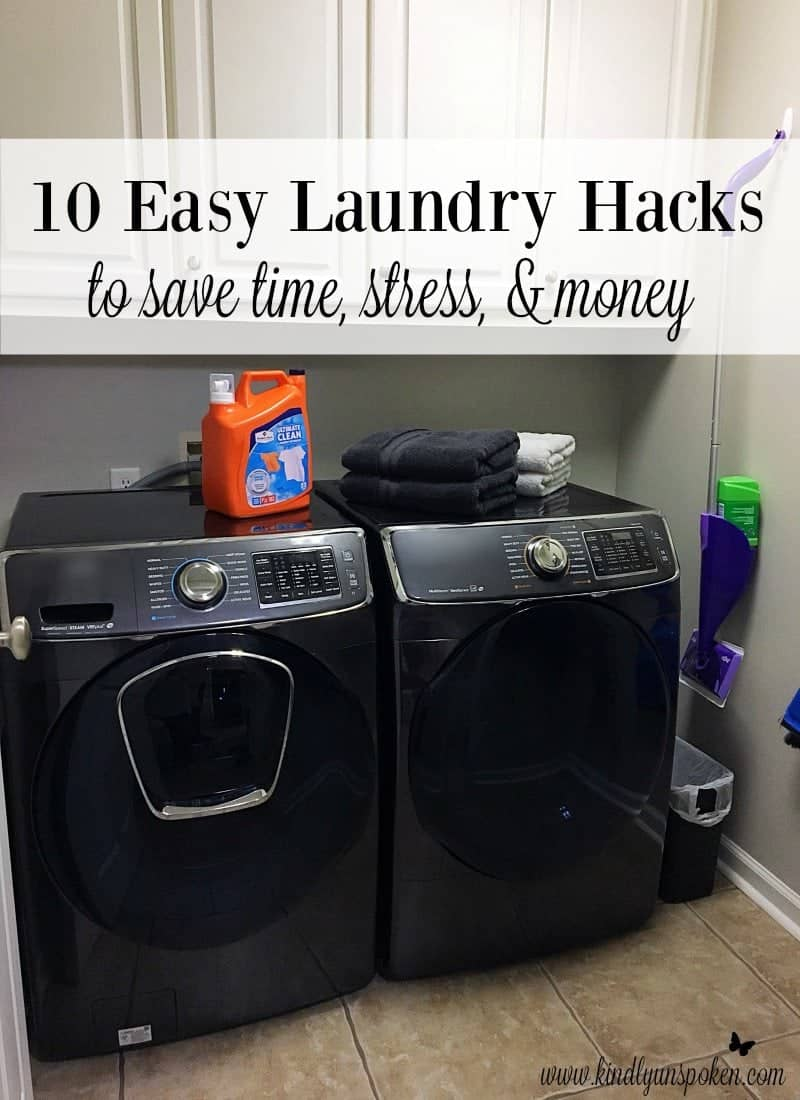 10 Easy Laundry Hacks To Save Time Stress Amp Money