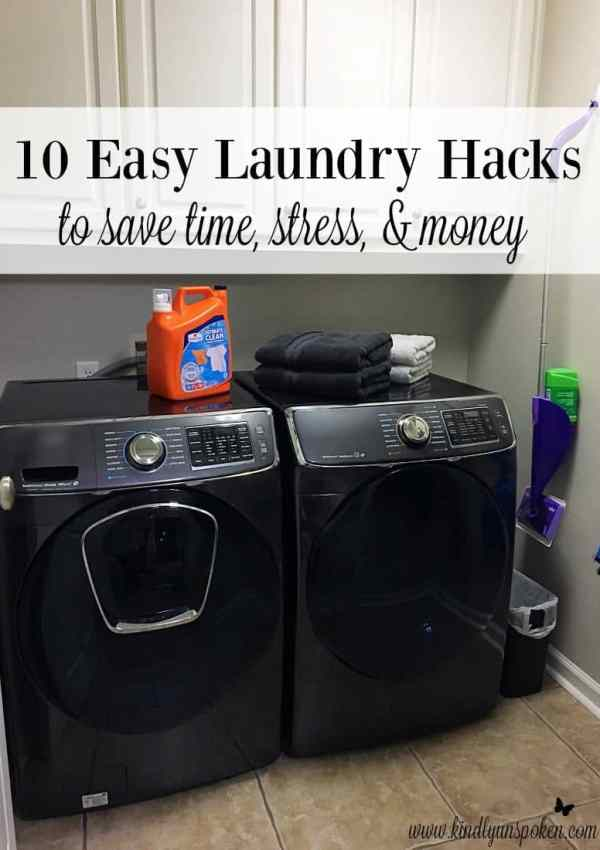10 Easy Laundry Hacks To Save Time, Stress, & Money