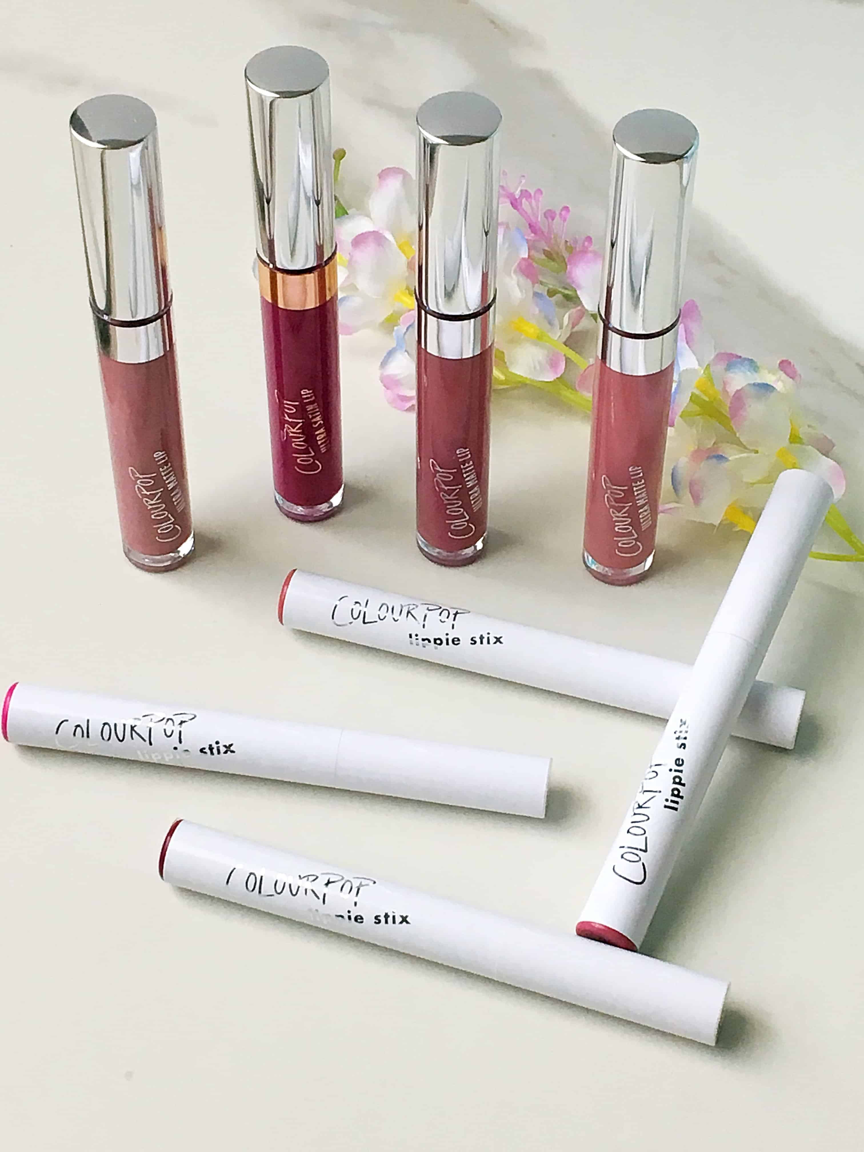 Best ColourPop Lipsticks- Review + Swatches: Today I'm sharing the Best ColourPop Lipsticks, which are beautiful, affordable, and every lipstick lover needs in their makeup collection!Sharing a full review and swatches of ColourPop liquid lipsticks and lippie stix and my favorite shade recommendations.