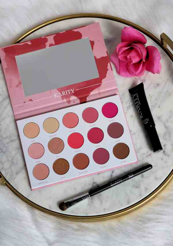 Karity Rosé All Day Eyeshadow Palette Review