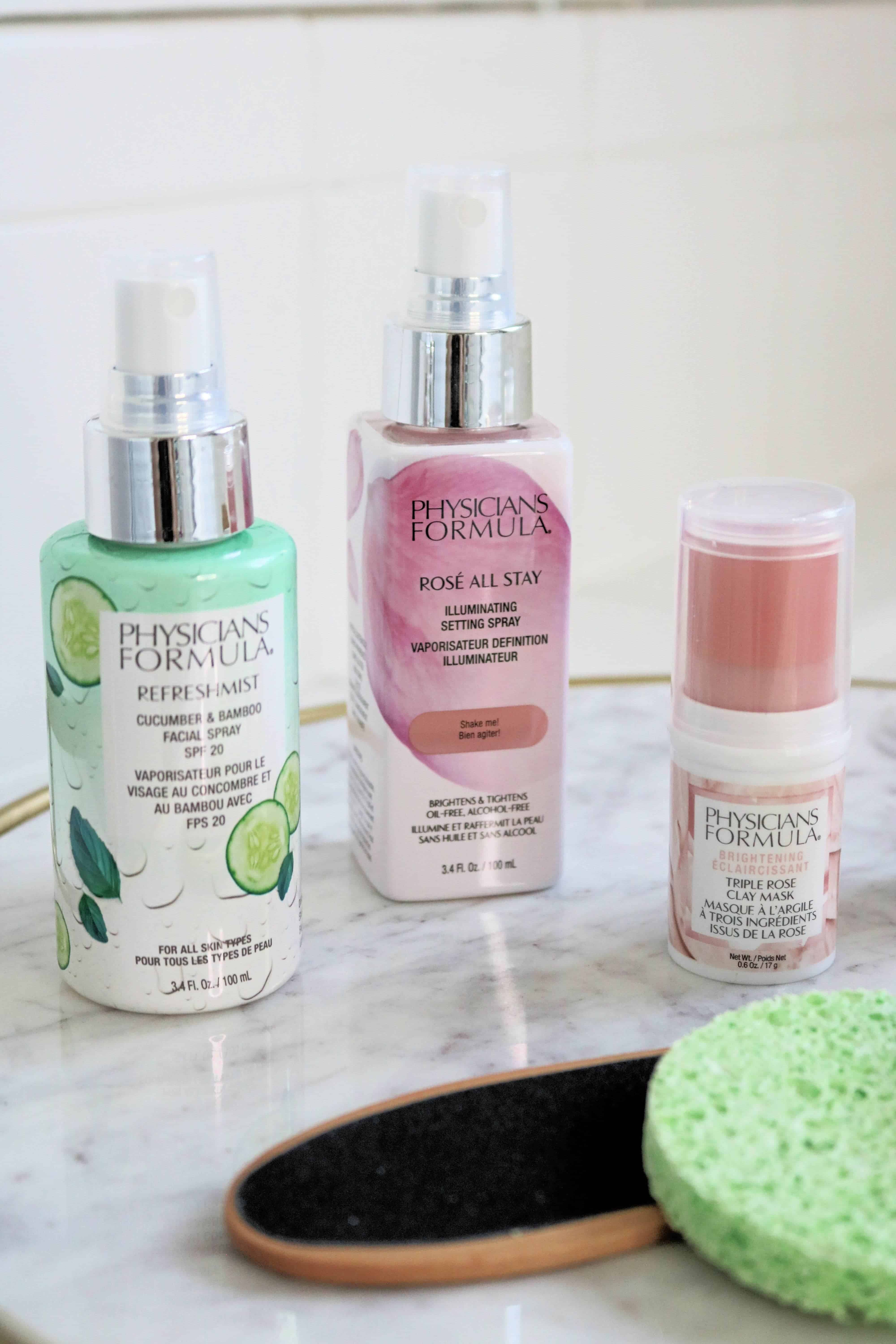 Pamper yourself at home with these new + affordable beauty products from Physicians Formula! These drugstore beauty and skincare products are perfect for a relaxing evening or weekend when you want to treat your skin to a little extra TLC. #ad #physiciansformula #skincare #drugstorebeauty