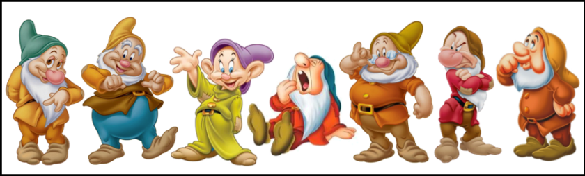 the seven dwarfs of early retirement