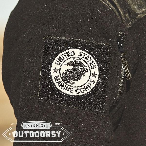 USMC Round Velcro Patch