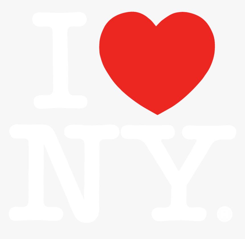 Download I Love Ny Vector - Heart, HD Png Download - kindpng