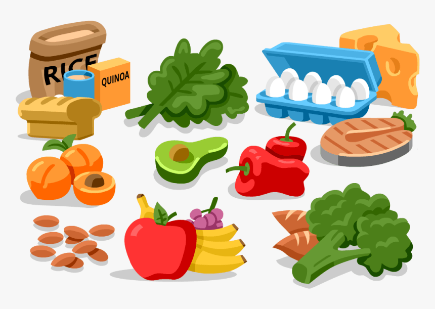 Food Clipart Salty Healthy Food Energy Clipart Hd Png Download Kindpng