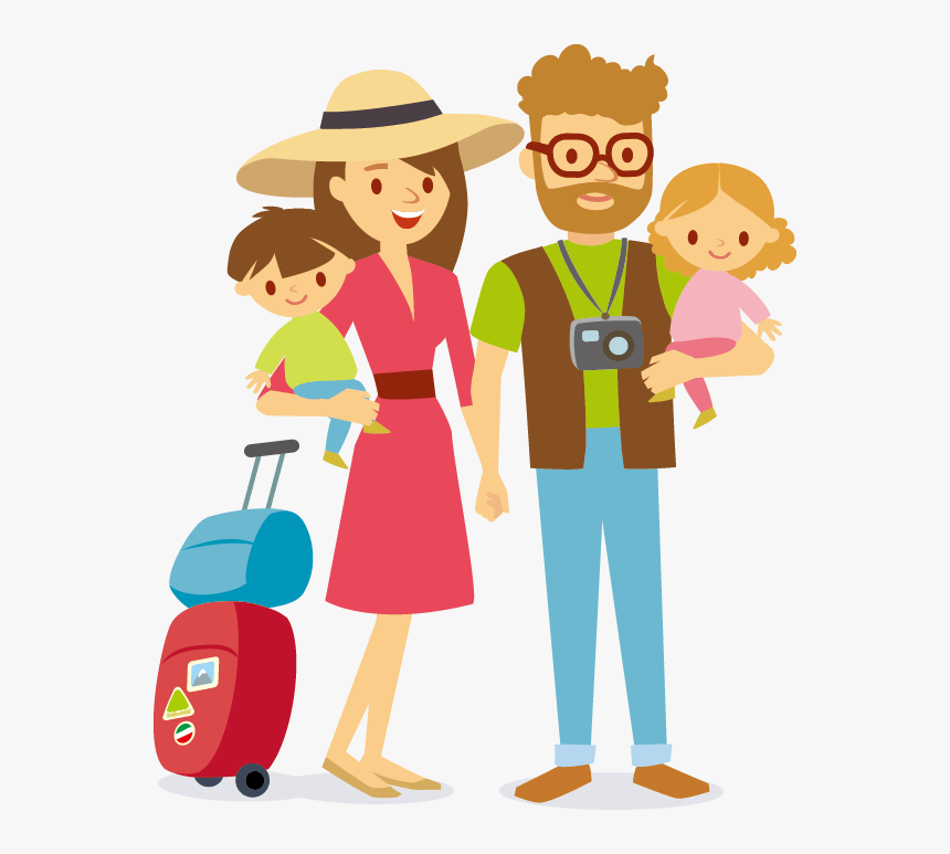Family Travel Clip Art Family Travel Vector Png Transparent Png Kindpng