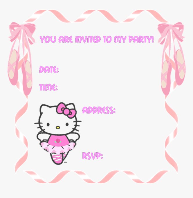 O Kitty Party Invitation Templates