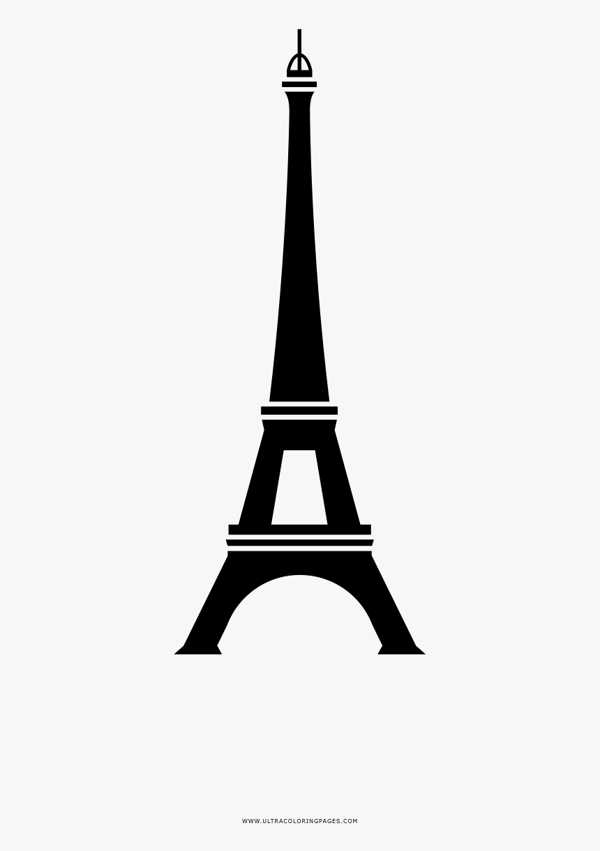 Coloring Pages Eiffel Tower Coloring Page Ultra Pages Steeple Hd Png Download Kindpng